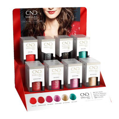 CND Shellac Cocktail Couture 16Pcs Display 00841