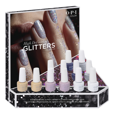 OPI Gelcolor High Definition Glitters 12Pcs Display 25993