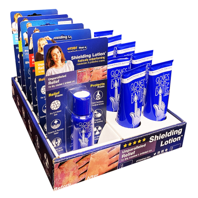 Gloves In A Bottle Combo Tray 10Tubes + 6 Blister