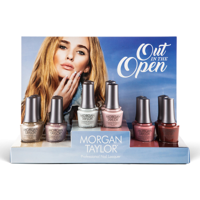 Morgan Taylor Out In The Open 12Pcs Display 3130077