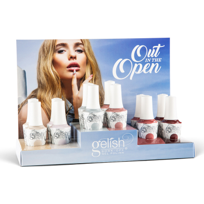 Gelish Gel Polish Out In The Open 12PC Display 1130037