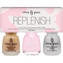 China Glaze Replenish 3-pack - #83918