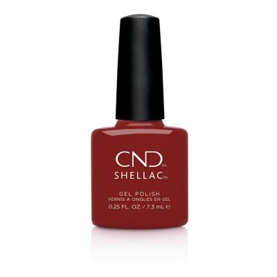 CND Shellac Bordeaux Babe 0.25 fl oz/7.3 ml - 00838