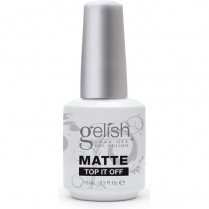 Gelish Matte Top It Off Sealer Gel 0.5 oz. 15ml #1140001