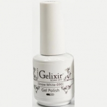 Gelixir Soak Off Gel 0.5 fl oz/15ml - Snow White #090