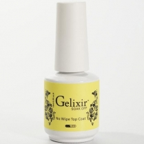 Gelixir Soak Off Gel UV/LED Top Coat 0.5 fl oz/15ml - 02110