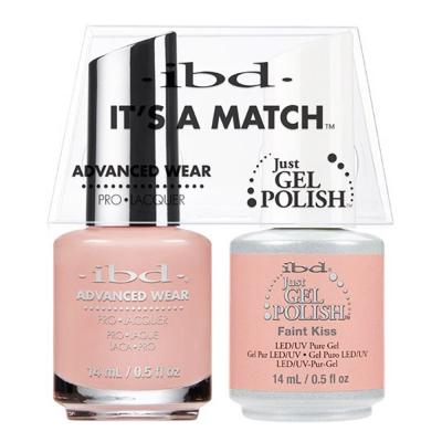 IBD Just Gel Polish It's A Match - Faint Kiss #65741