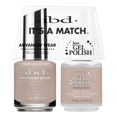 IBD Just Gel Polish It's A Match - Sinful Grin #65743