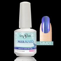Cre8tion Mermaid LED/UV Soak Off Gel 0.5 fl oz/15ml - MM01