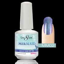Cre8tion Mermaid LED/UV Soak Off Gel 0.5 fl oz/15ml - MM02