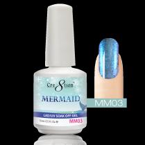 Cre8tion Mermaid LED/UV Soak Off Gel 0.5 fl oz/15ml - MM03