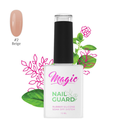 Magic Builder Gels NailGuard - Beige #2 15ml