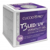 CuccioProT3 LED/UV S/L Thin 1oz Opaque Shimmer Pink CPGL4044