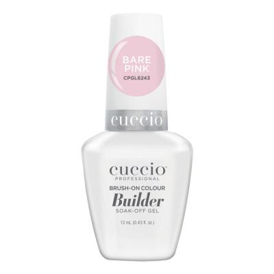 Cuccio LED/UV Brush-On Builder 0.43 oz - Bare Pink CPGL6243