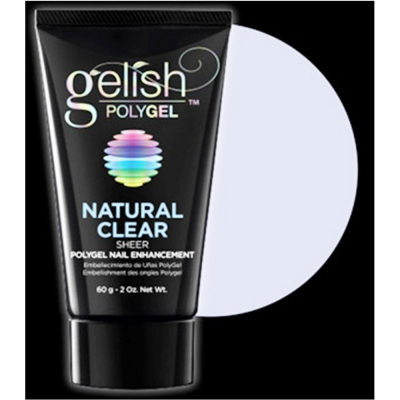 Gelish Polygel 2 fl oz/60g - Natural Clear Sheer - 1712001