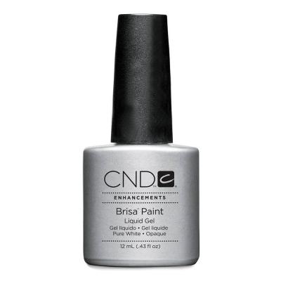 CND Brisa Paints Soft White Opaque 0.43 fl oz - 12ml 08059
