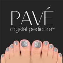 Pave Crystal Pedicure Mini Kit, 8pcs - Black Diamond