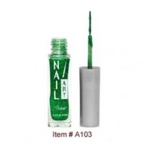 Nubar Nail Art Strippers Grass Green Glitter A103