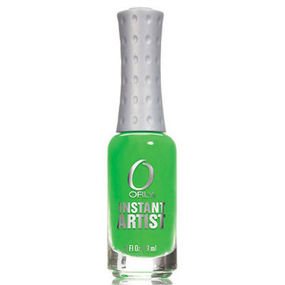 Orly Instant Artist Water-Based Paint Hot Green 0.3oz 27007