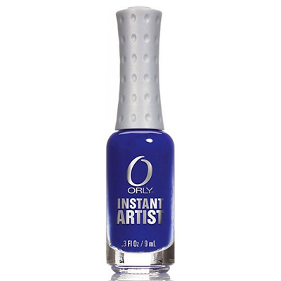 Orly Instant Artist Water-Based Paint True Blue 0.3oz 27008