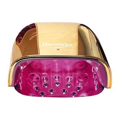Ikonna Rechargeable UV/LED Lamp 48W Rose Gold LED48RG