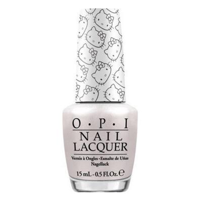 OPI Kitty White 0.5 oz. NL H80