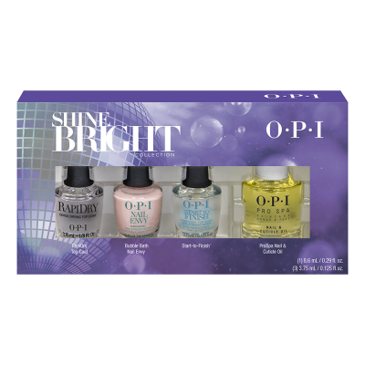 OPI Shine Bright Holiday 2020 Treatments Mini 4-pack HR M34