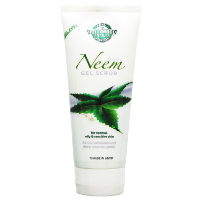 Hollywood Style Neem Gel Scrub 5.3oz/150ml #50283
