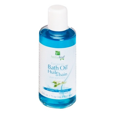 Herbalind European Bath Oil Juniper 5floz-150ml #00304