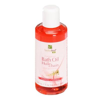 Herbalind European Bath Oil Rosemary 5floz-150ml #00305