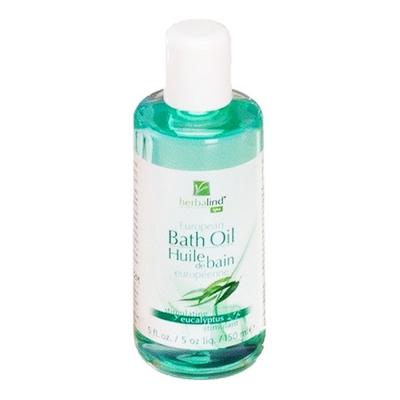 Herbalind European Bath Oil Eucalyptus 5floz-150ml #00302