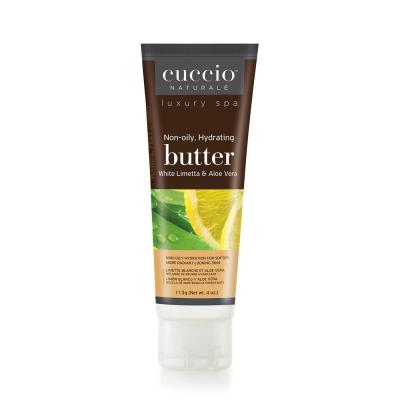 Cuccio Non-Oily Hydrating Butter 4oz White Limetta&Aloe 3381