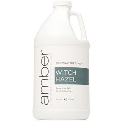 Amber Pre-Wax Treatment Witch Hazel 64 oz./1/2 Gal - 75041