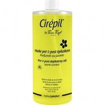 Cirepil Pre & Post Depilatory Oil Jasmine Scented 1L #00152