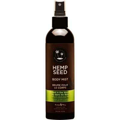 Hemp Seed Body Mist Naked In The Woods 8 fl oz/237ml #00479