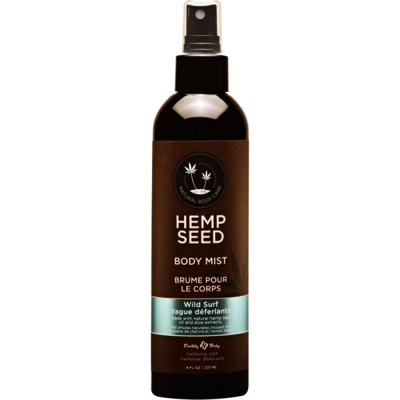Hemp Seed Body Mist Wild Surf 8 fl oz/237ml #00788
