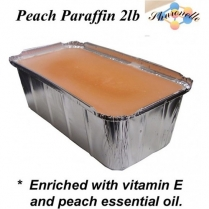 sharonelle Peach Paraffin Wax 2lb P-2