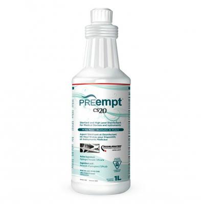 Accel PREempt CS20 Sterilant & Disinfectant 1L PRE11401