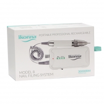 Ikonna Portable Nail Filing System Model 8/30000RM IP-D8WH