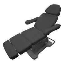 Massage Bed, 4 Motors - Black LK-2162