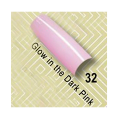 Lamour Color Tips Glow in the dark Pink 100-32