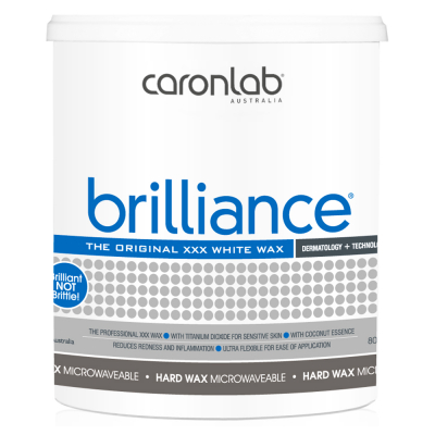 Caronlab Brilliance White Hard Wax Micr 800g CL-2WHBR8/00320