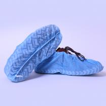 NON SLIP SHOE COVER, NON WOVEN FABRIC, BLUE
