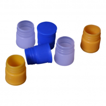 PLUG-IN CAPS FOR 10ml CENTRIFUGE TUBE - NATURAL