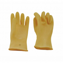 """RUBBER SAFETY GLOVES, NATURAL, 9.5"""" X 11"""""""