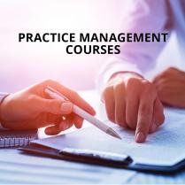 Practice Management Courses