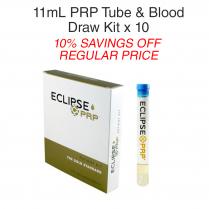 11ml PRP Tube & Blood Draw Kit 10 Pack