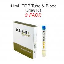 11ml PRP Tube & Blood Draw Kit 3 Pack