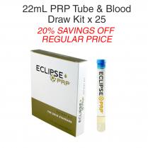 22ml PRP Tube & Blood Draw Kit 25 Pack