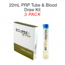 22ml PRP Tube & Blood Draw Kit 3 Pack